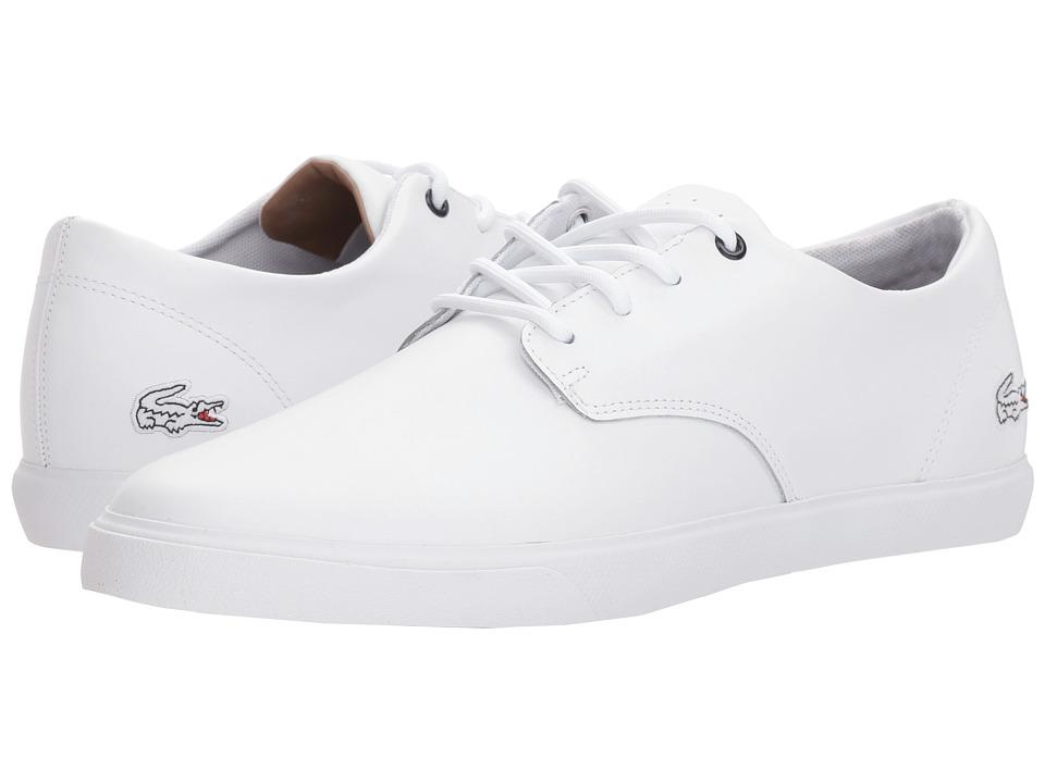 Lacoste Acitus 118 1 P (White/White) Men