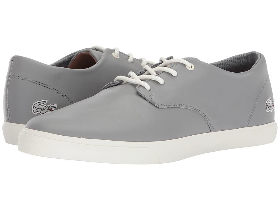 Lacoste Acitus 118 1 P (Grey/Off-White) Men