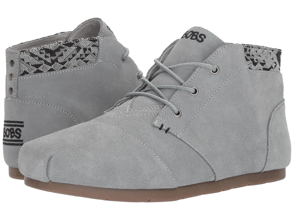 BOBS from SKECHERS Luxe Bobs Rustic Sole (Gray) Women