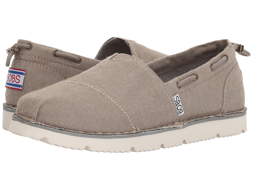 BOBS from SKECHERS Chill Luxe New Groove (Taupe) Women