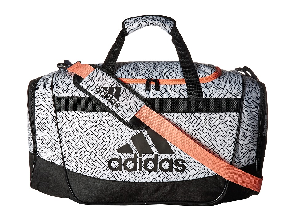 adidas - Defender II Medium Duffel (Core Blue/Black/Onix Jersey) Duffel Bags