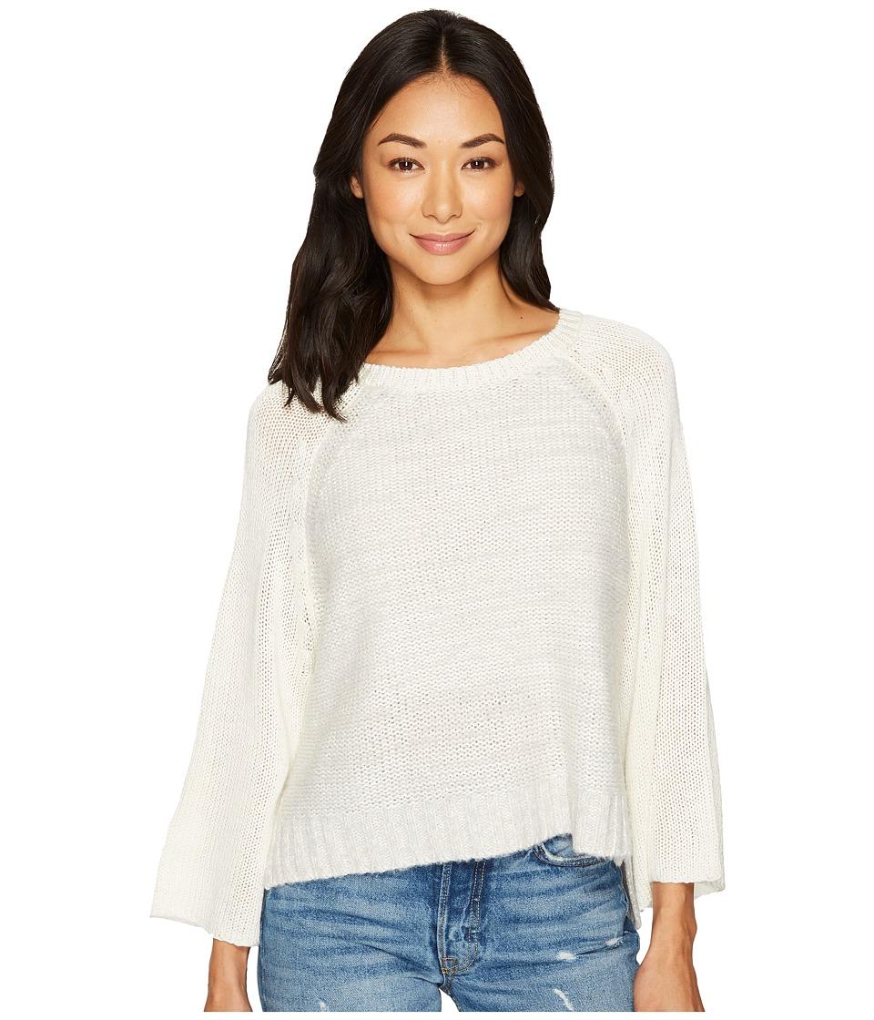 LAmade - Yoko Kimono Pullover (Silver/Egret) Women's Long Sleeve Pullover