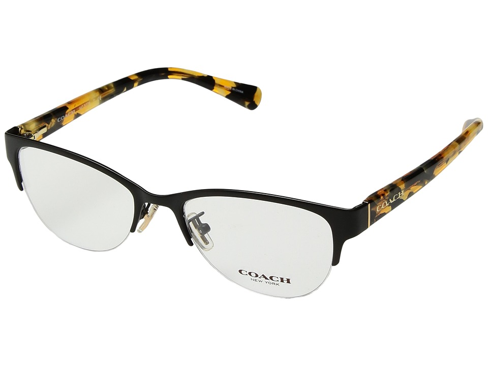 COACH - 0HC5078 (Black) Fashion Sunglasses