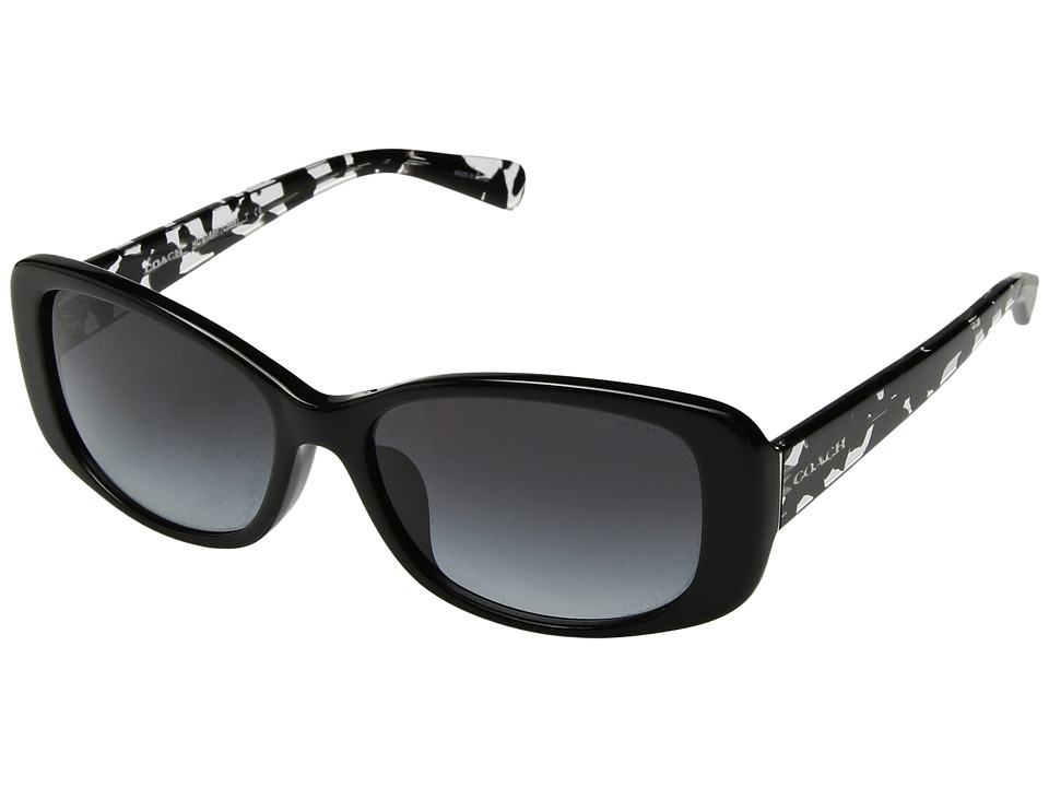 COACH - 0HC8168F (Brown) Fashion Sunglasses