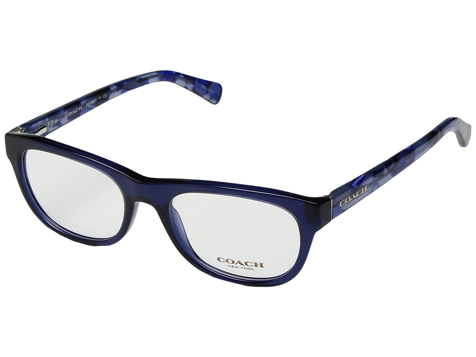 COACH - 0HC6081 (Navy) Fashion Sunglasses
