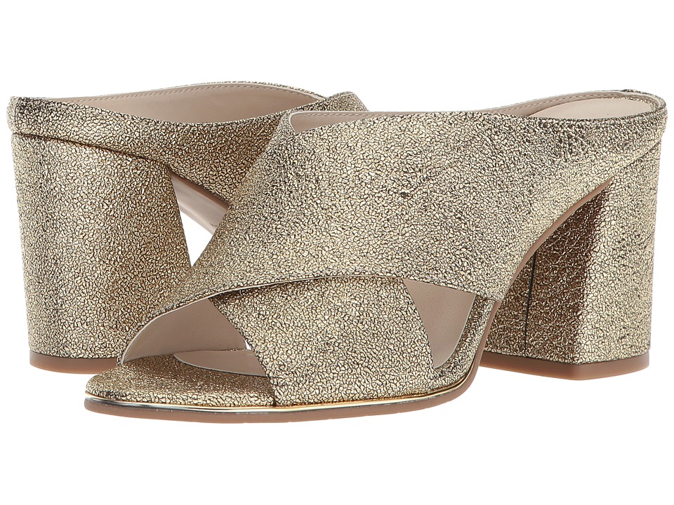 Kenneth Cole Reaction Limora (Gold Smooth) High Heels