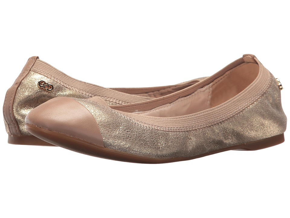 Cole Haan - Elbridge Ballet II (Maple Sugar Metallic Suede/Maple Sugar Leather) Women's Shoes
