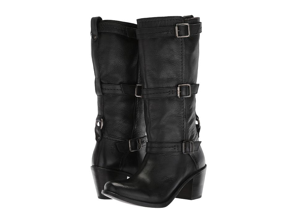 Frye - Carmen 3 Strap (Black) Women's Boots