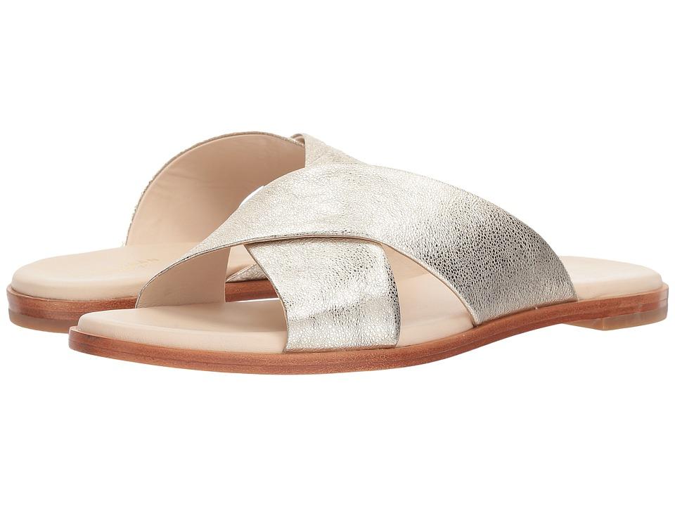 Cole Haan Anica Crisscross Sandal (Silver Glitter Metallic) Women