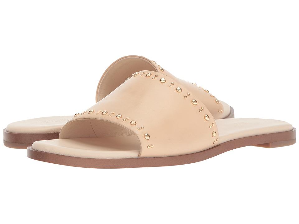 Cole Haan Anica Stud Slide Sandal (Nude Leather) Women