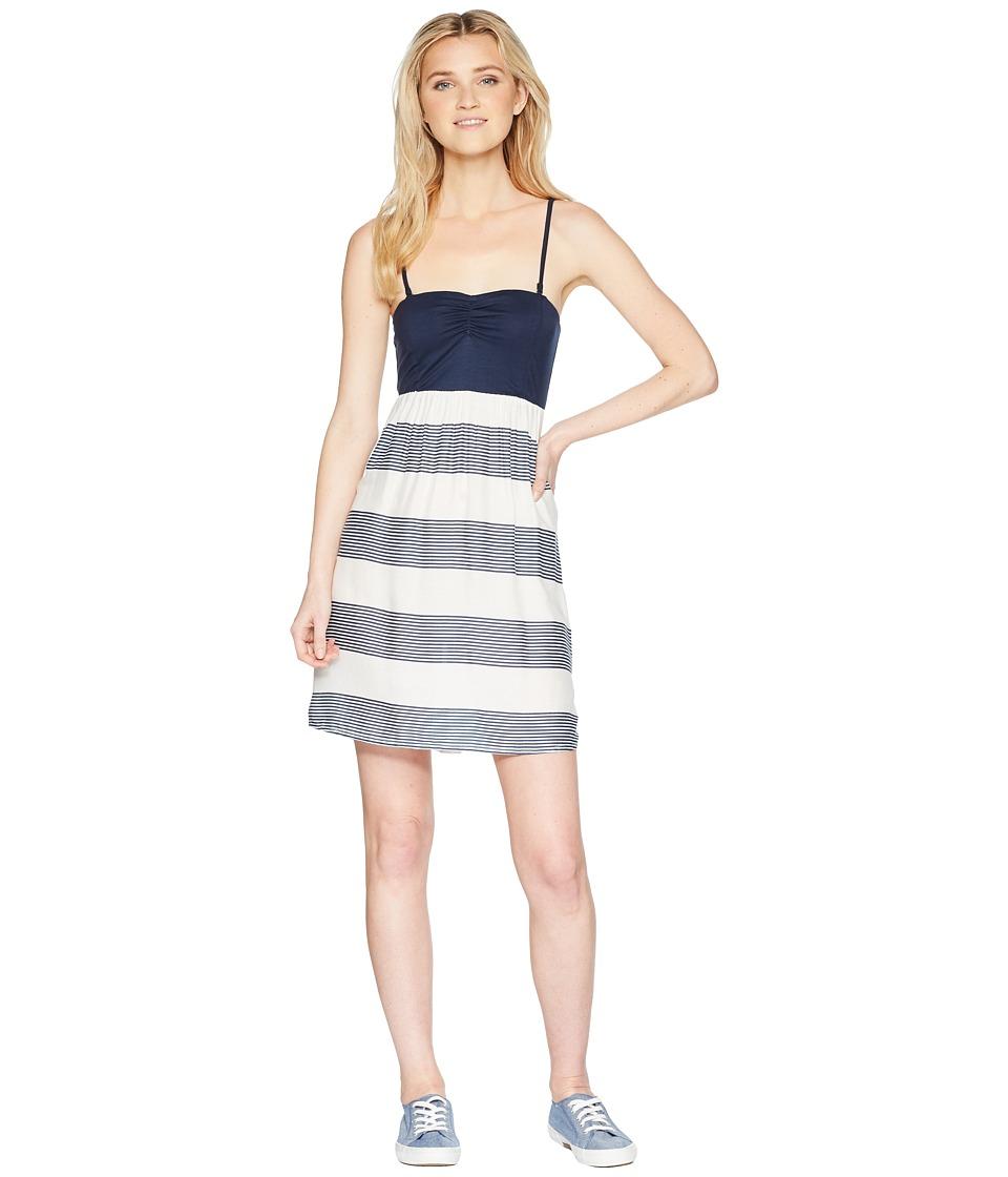 Roxy Ocean Romance (Marshmallow Dress Blue Docker) Women