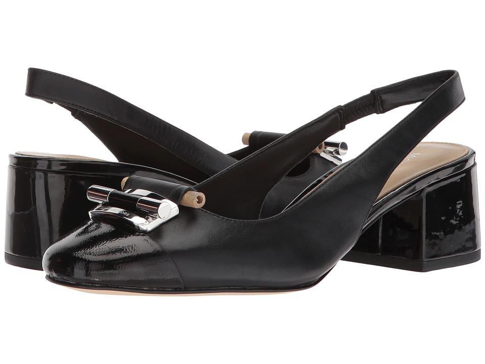 MICHAEL Michael Kors Gloria Toe Cap Sling Black Shoes