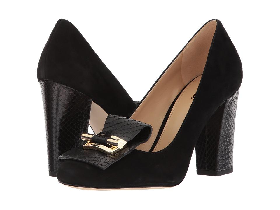 MICHAEL Michael Kors Gloria Kiltie Pump Black Shoes