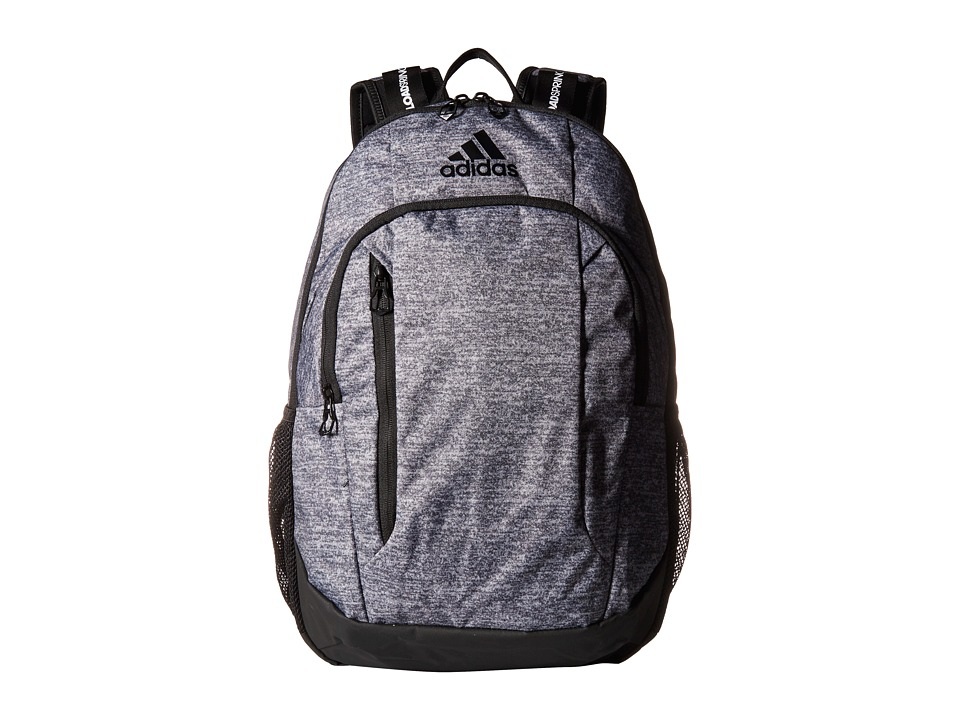 adidas Mission Plus Backpack (Onix Jersey/Black) Backpack Bags