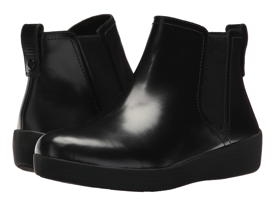 FitFlop Superchelsea Boot (All Black) Women