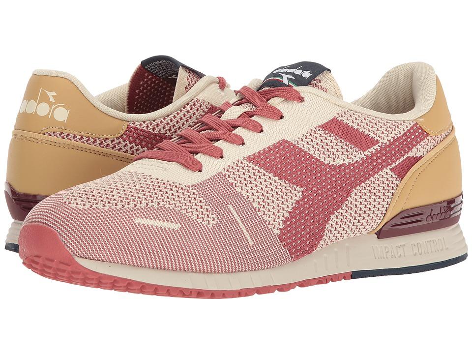 Diadora Titan Weave (Faded Rose/Cordovan/Sand) Athletic Shoes