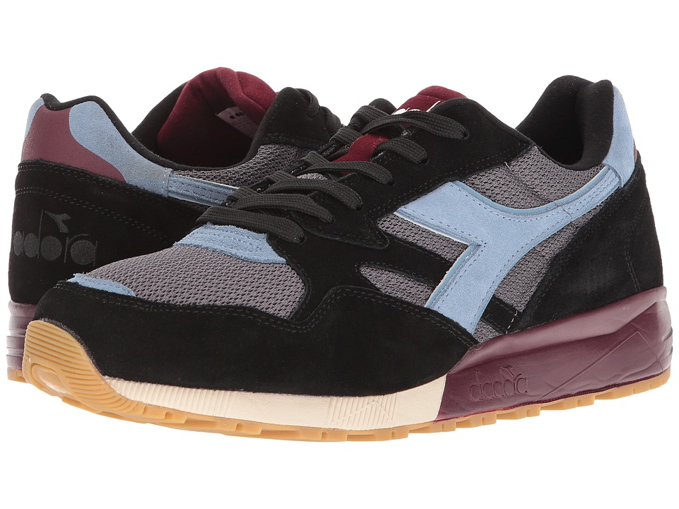 Diadora N902 S (Black) Running Shoes
