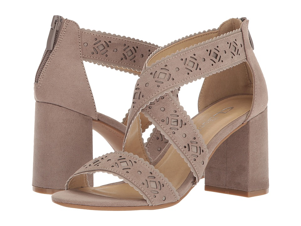 CL By Laundry Biz (Warm Taupe Super Suede) High Heels