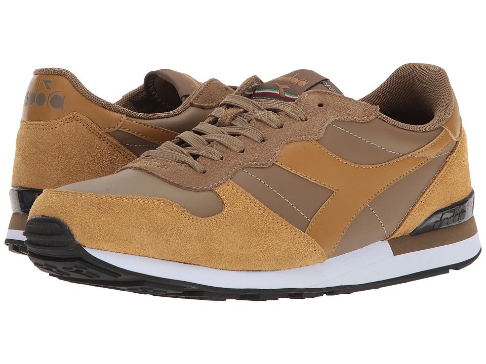 Diadora Camaro Leather (Kangaroo/Bone Brown) Athletic Shoes