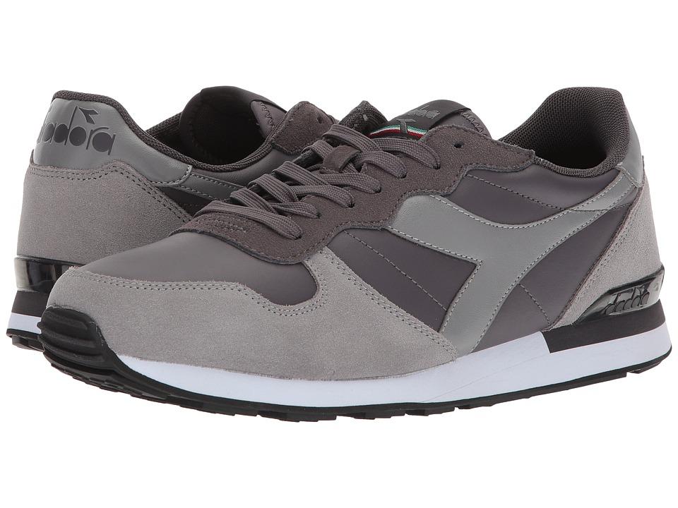 Diadora Camaro Leather (Plum Kitten/Frost Gray) Athletic Shoes