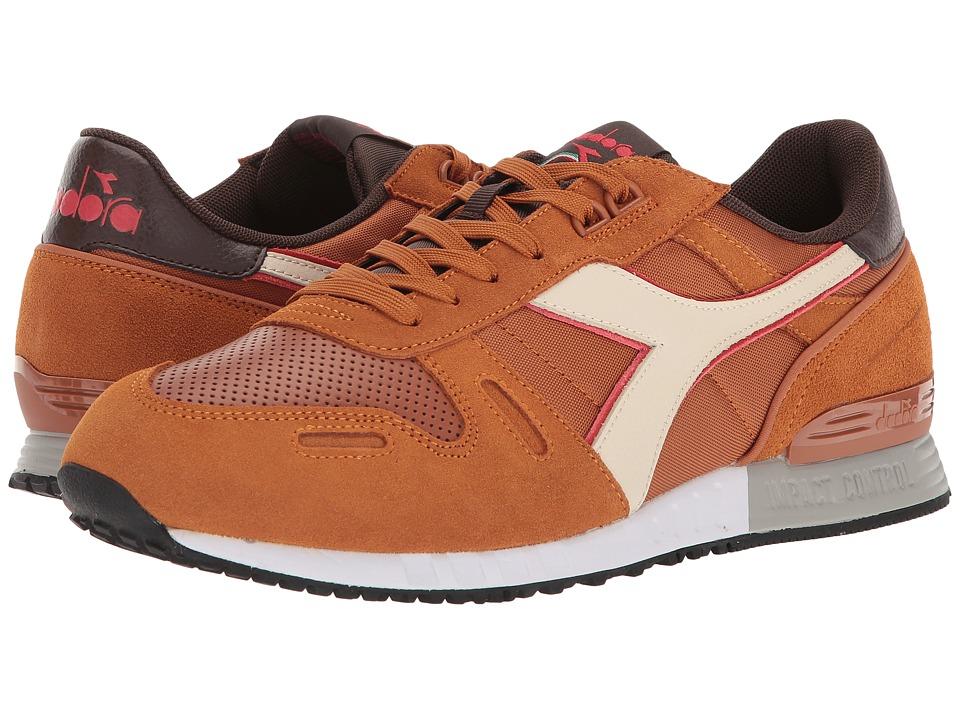 Diadora Titan II WNT (Chocolate Brown/Leather Brown) Athletic Shoes