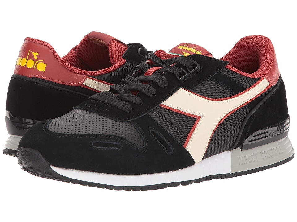 Diadora Titan II WNT (Black/Pink Tint) Athletic Shoes