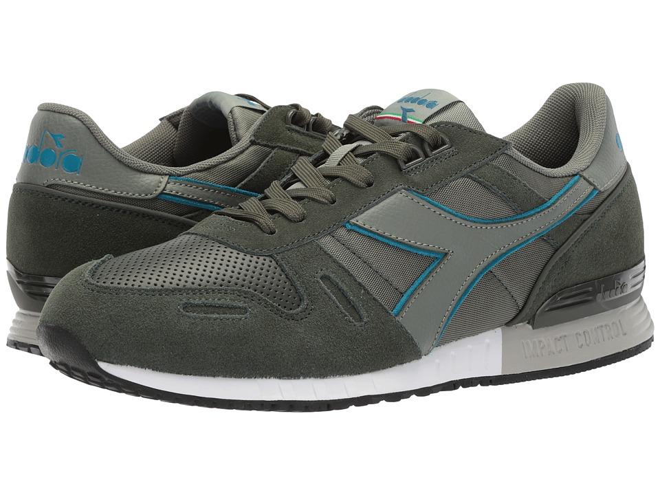 Diadora Titan II WNT (Climbing Ivy/Agave Green) Athletic Shoes