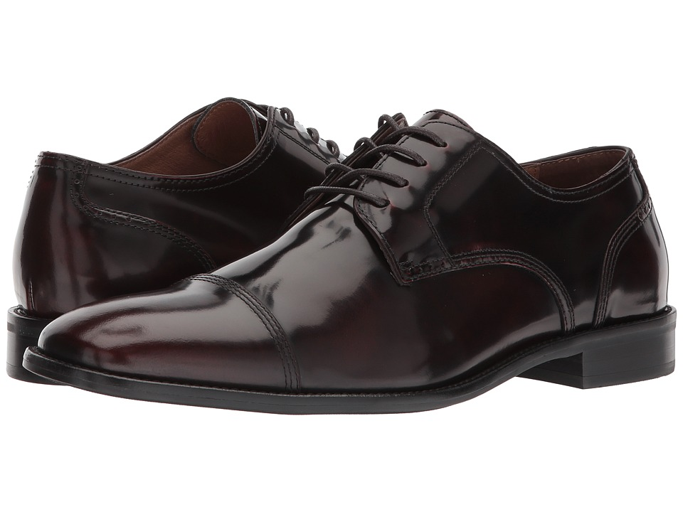 Johnston & Murphy Knowland Cap Toe (Burgundy) Men