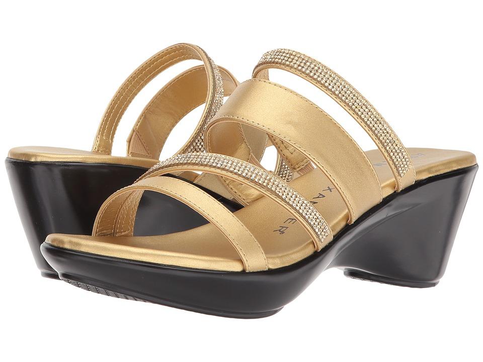 Athena Alexander Kozima Sandal (Gold) Women