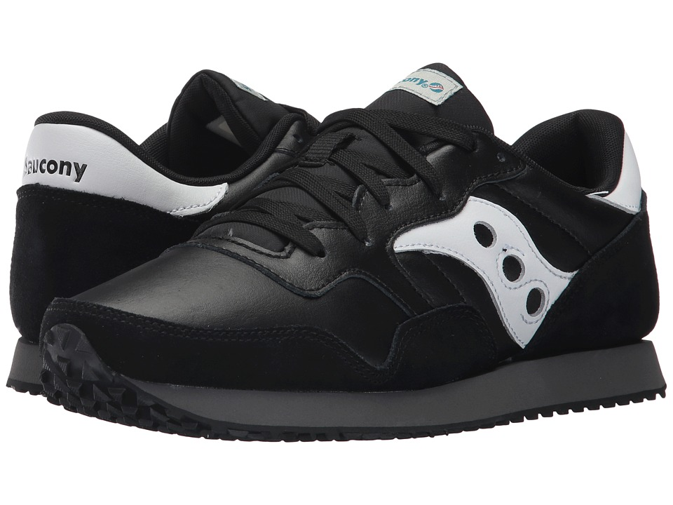 Saucony Originals - DXN Trainer (Black/White) Men's Shoes