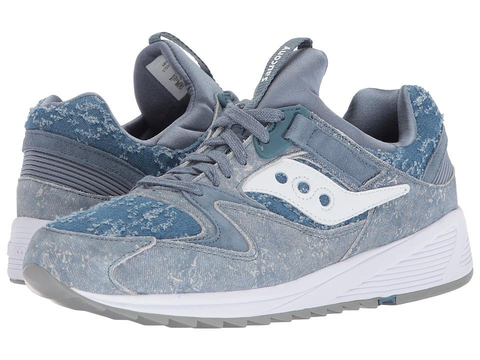 Saucony Originals - Grid 8500 (Blue Denim) Men's Shoes