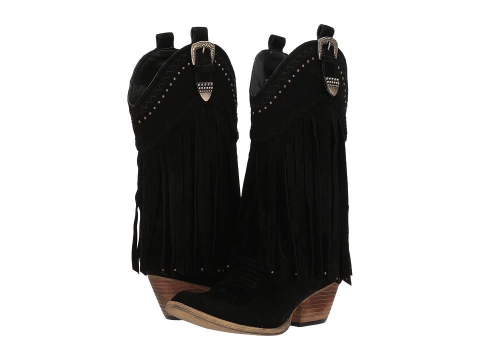 VOLATILE Davila (Black) Cowboy Boots