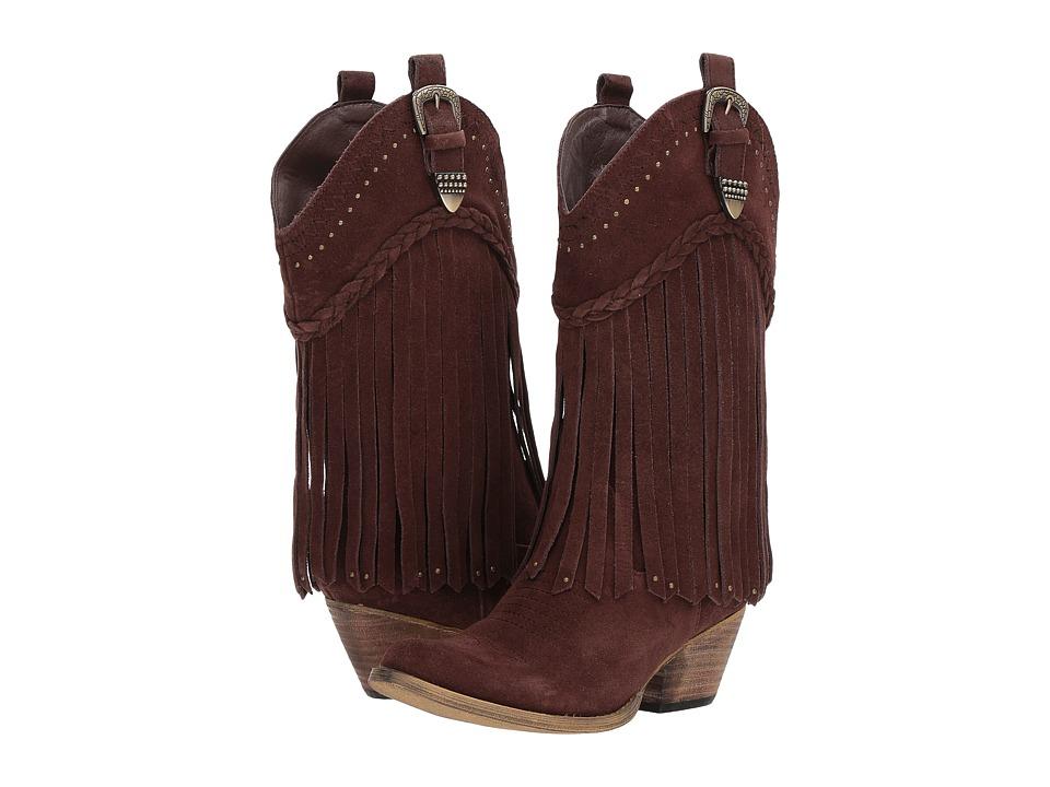 VOLATILE Davila (Brown) Cowboy Boots