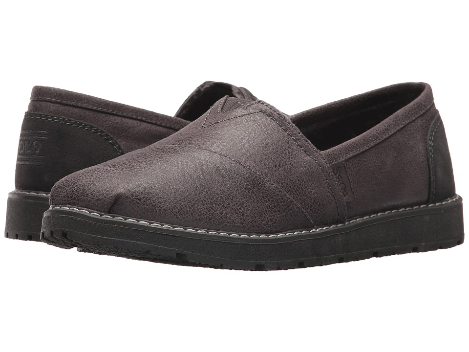 BOBS from SKECHERS Bobs Alpine Winter Thread (Charcoal) Women