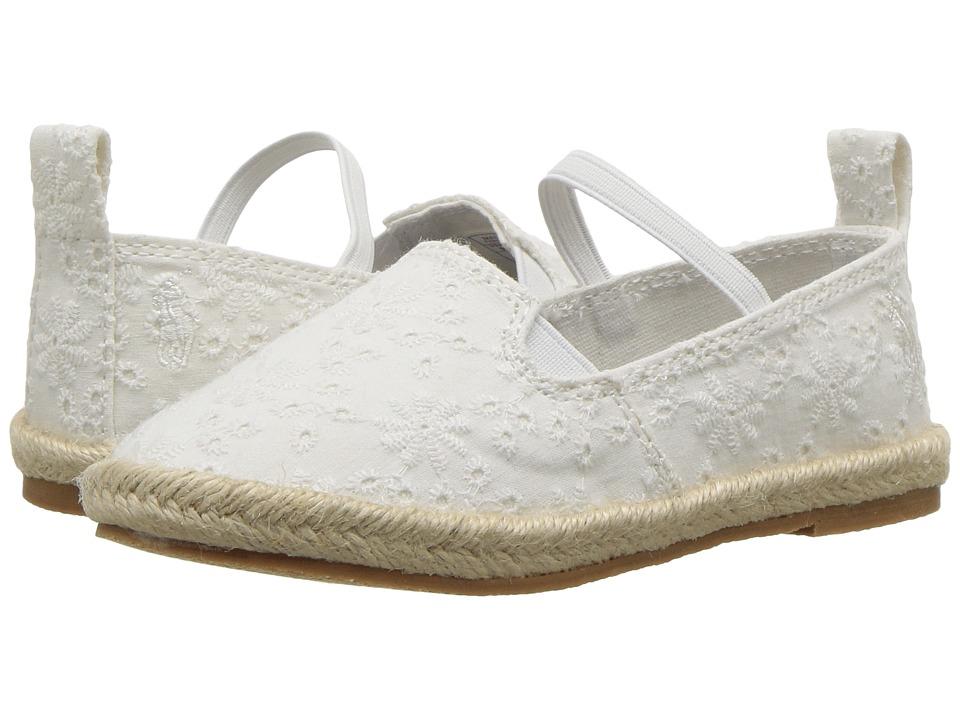 Polo Ralph Lauren Kids Beakon (Toddler) (White Eyelet 1) Girls Shoes