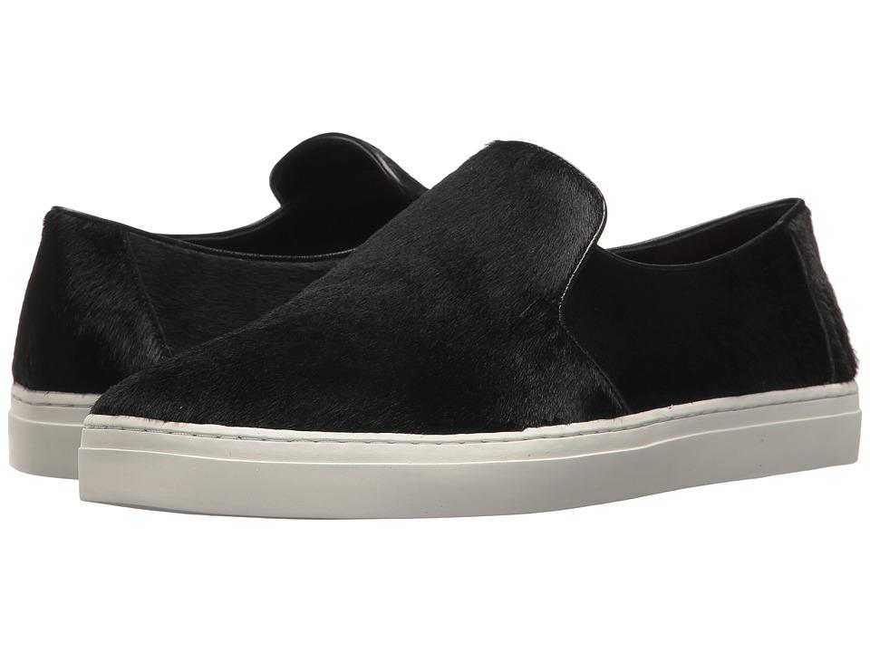 Diane von Furstenberg Budapest Calf Hair Slip-On Sneaker (Black) Women