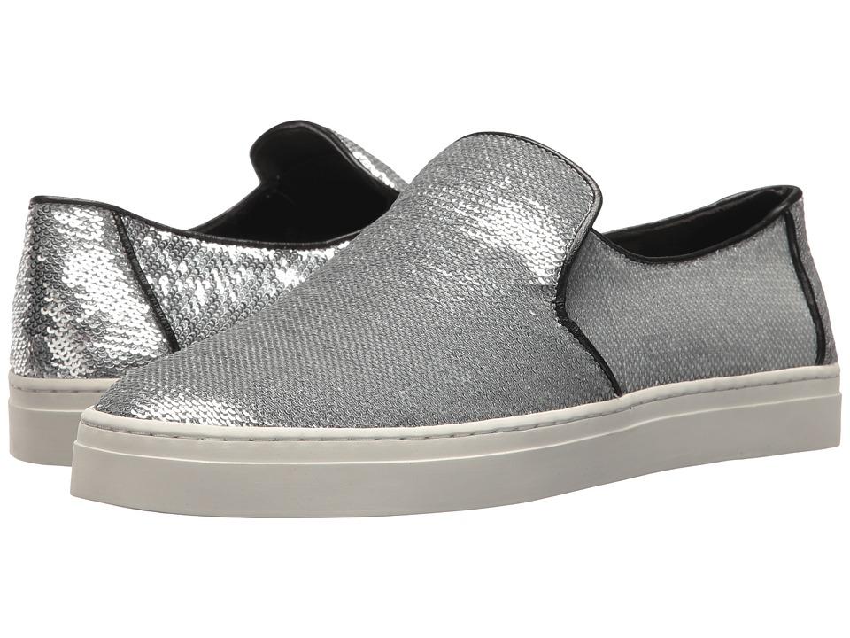 Diane von Furstenberg Budapest Slip-On Sneaker (Silver) Women