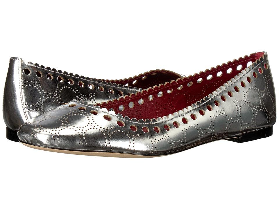 Diane von Furstenberg Corolla Flat (Silver) Women