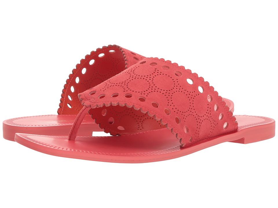 Diane von Furstenberg Ekati Thong Sandal (Vintage Pink) Women