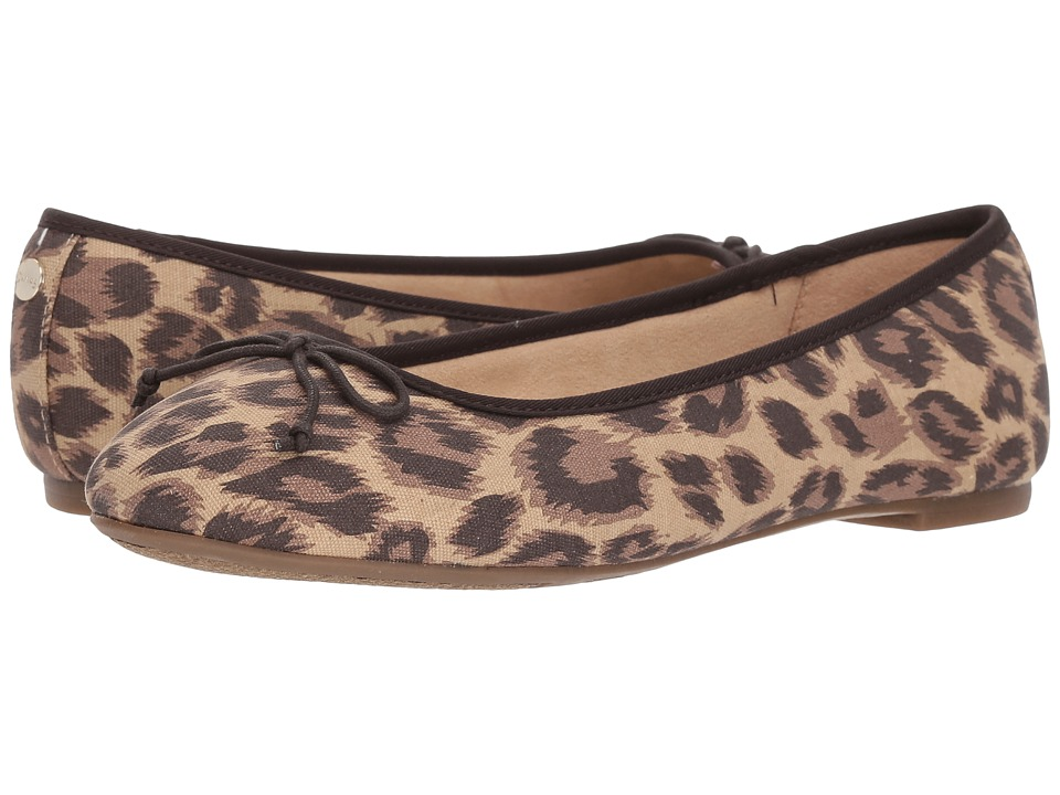 Circus by Sam Edelman Charlotte (Brown Leopard Leopard Canvas) Women's Shoes