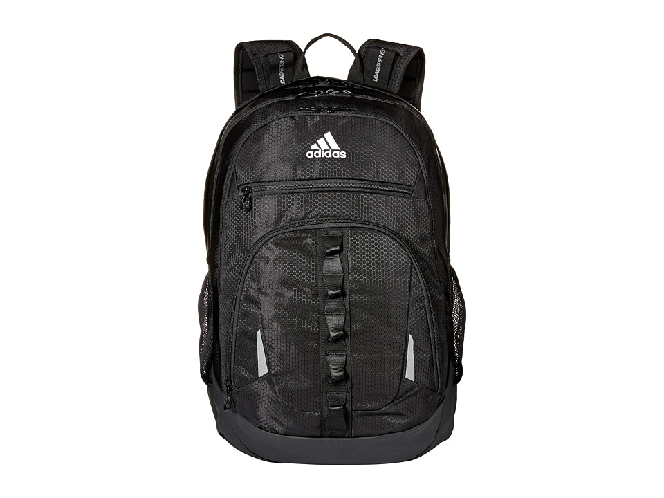 adidas Prime IV Backpack (Black/White) Backpack Bags