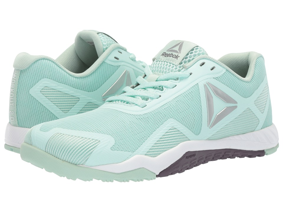 Reebok ROS Workout TR 2.0 Cross Trainer (Mist/White/Meteorite/Pure Silver) Women