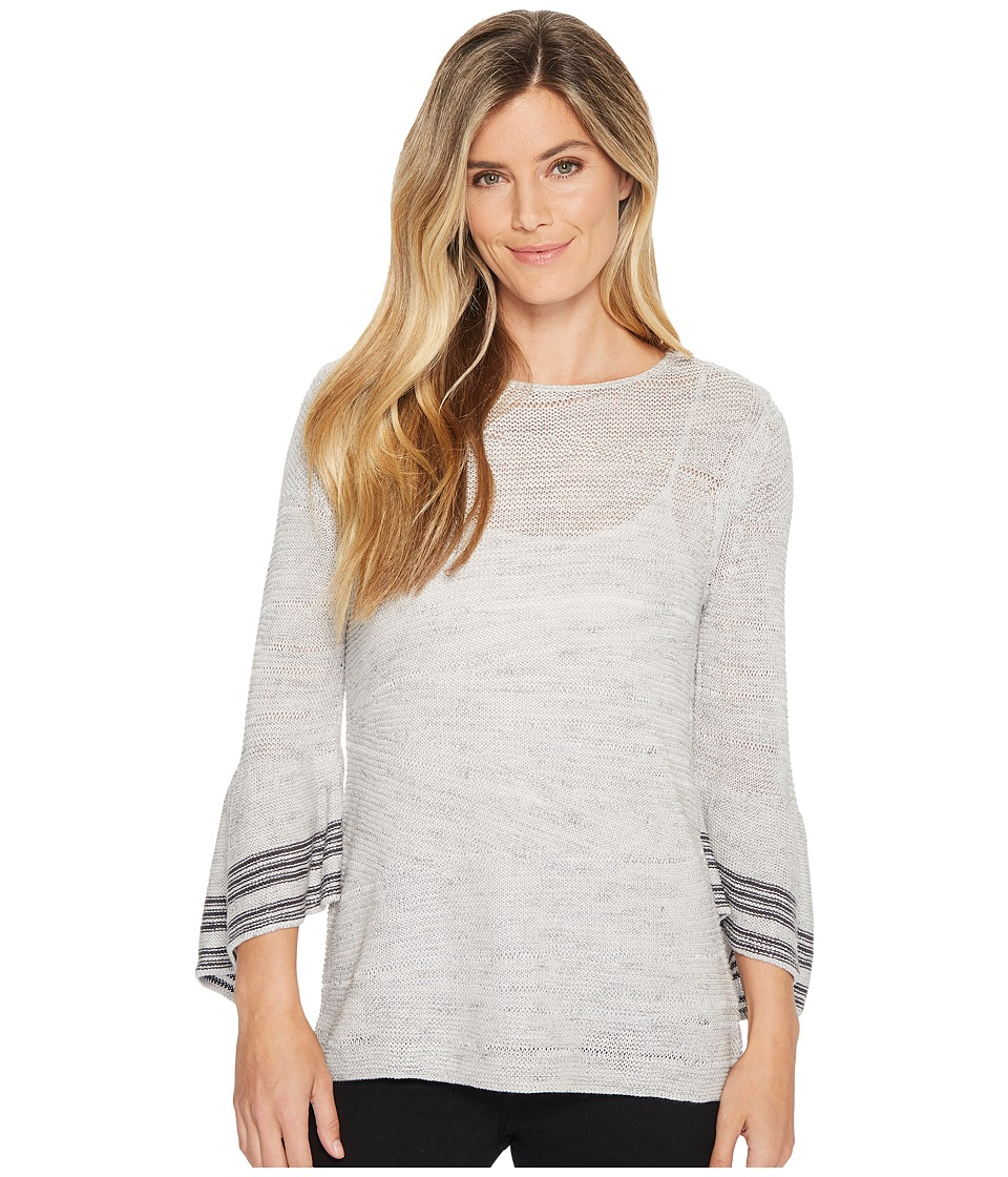 NIC+ZOE Traveling Stripe Top (Multi) Women