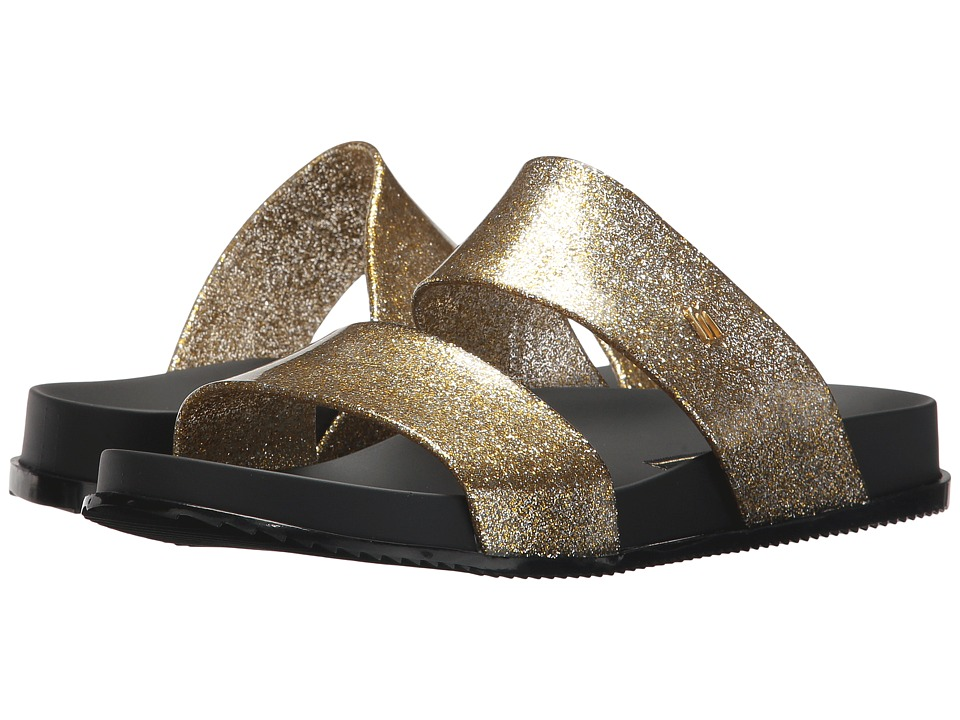 Melissa Shoes Cosmic (Gold Glitter/Black) Women