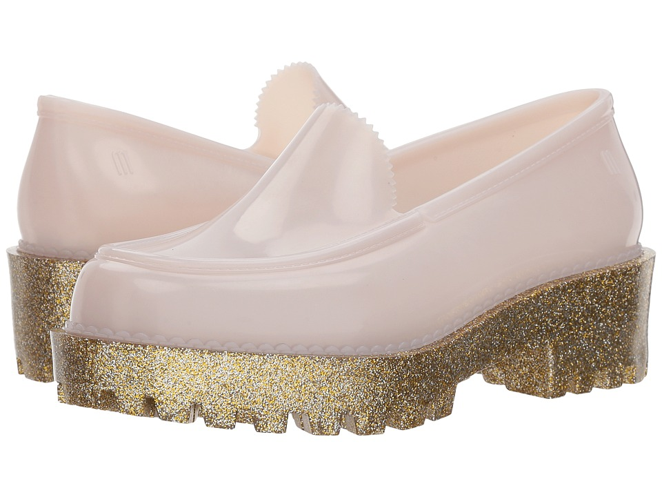 Melissa Shoes Panapana (Beige Glass Glitter) Women