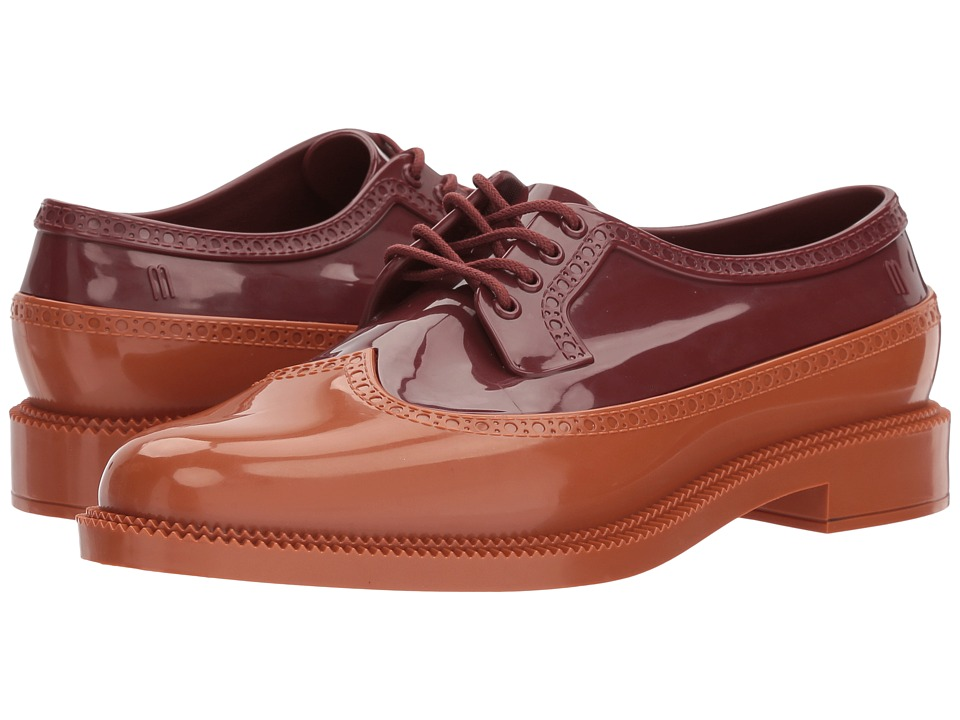Melissa Shoes Classic Brogue (Bordeaux Brown) Women