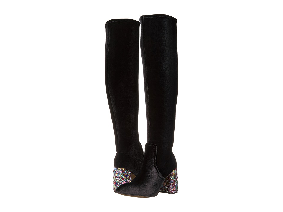 Betsey Johnson Keeva (Black Velvet) Women
