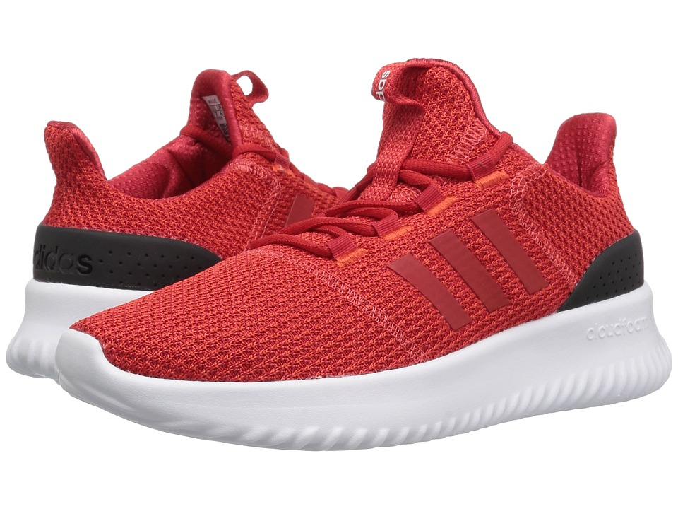 adidas Kids Cloudfoam Ultimate (Little Kid/Big Kid) (Hi-Res Red/Scarlet/Black) Kids Shoes