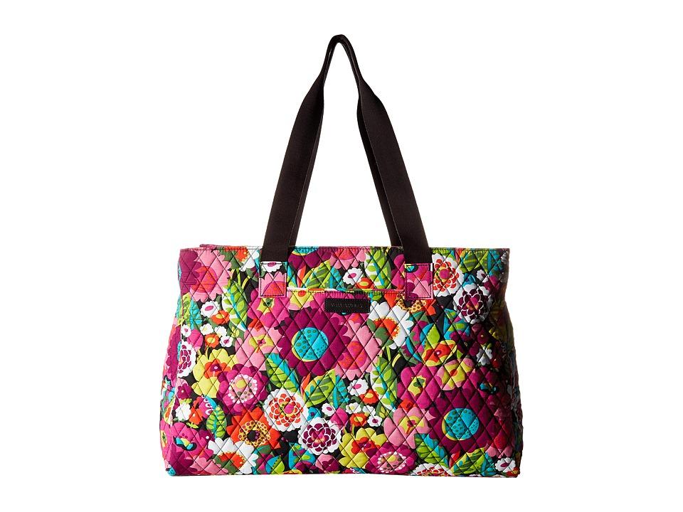 Vera Bradley - Triple Compartment Travel Bag (Va Va Bloom) Bags