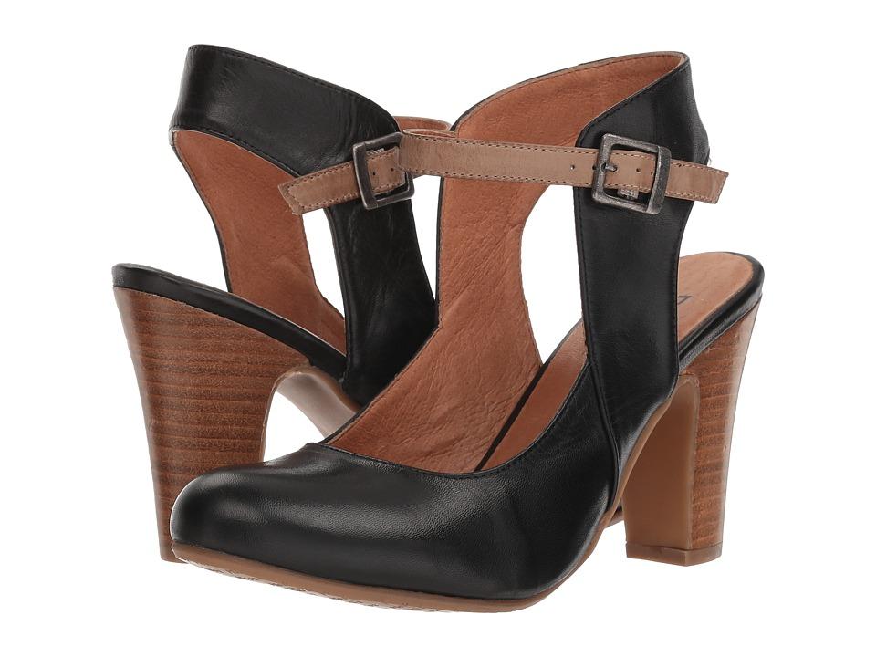 Miz Mooz Janna (Black) High Heels